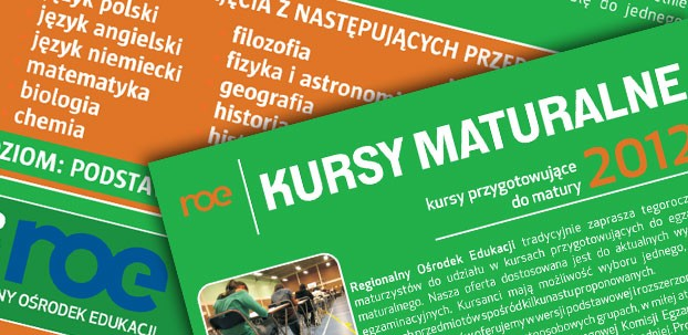 Oferta kursów maturalnych 2012.